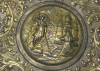 Miracle of the Archangel Michael plate